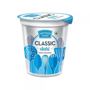 Mother Dairy Classic Curd (Cup) 200 gm