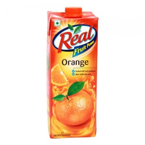Real Orange Juice 1 Ltr