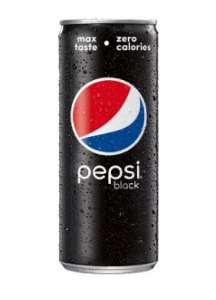 Pepsi Black Can (Zero Calories)