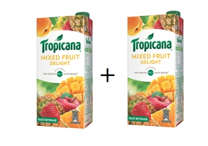 Tropicana Mixed Fruit pack of 2