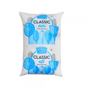 Mother Dairy Classic Curd (Polypack) 1 Ltr