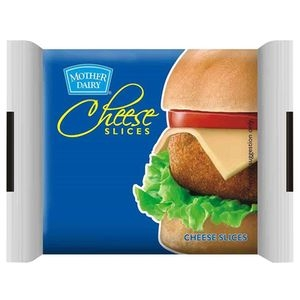 Mother Dairy Cheese - Slices, 200 gm